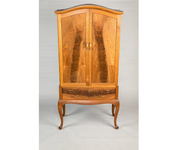 Retro Walnut Armoire