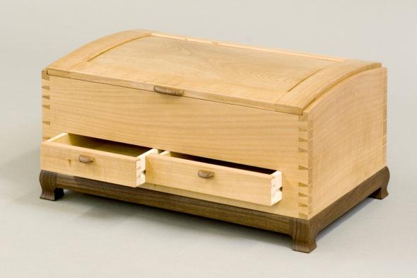 Madrone Jewelry Box
