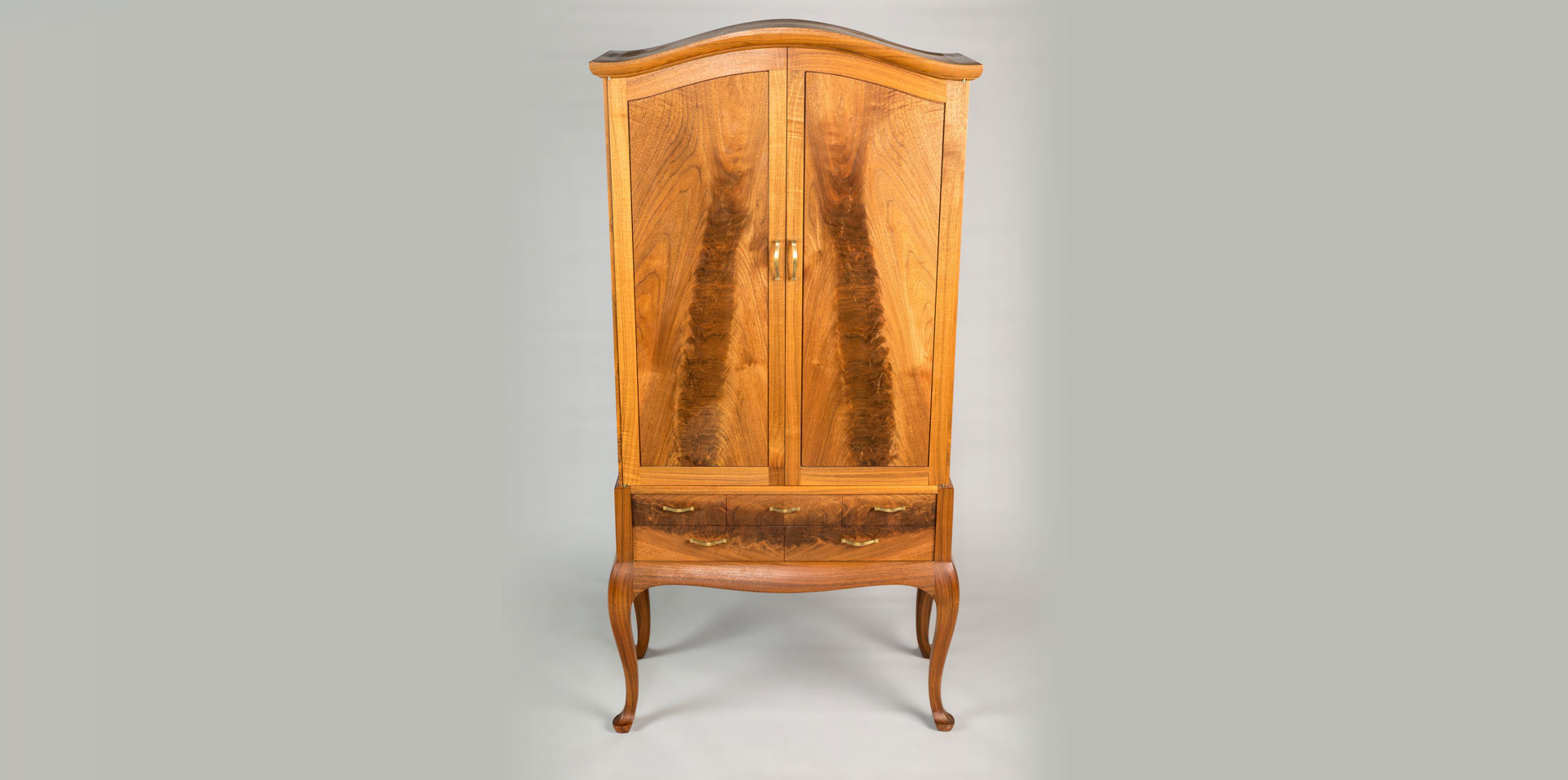 Walnut Armoire - Doug King Design