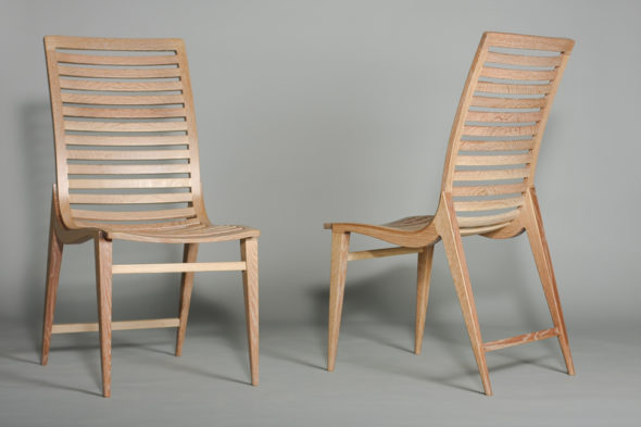 White Oak Excelsior Chairs